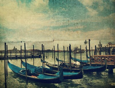 Fototapete Gondola. Venedig