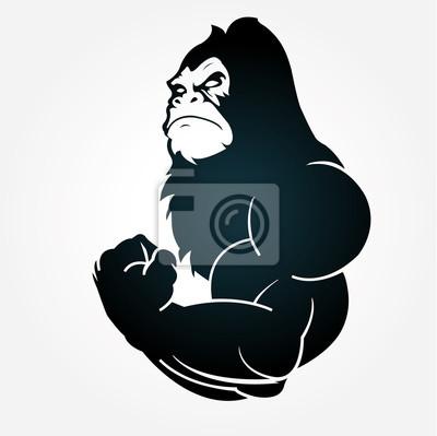 Fototapete Gorilla