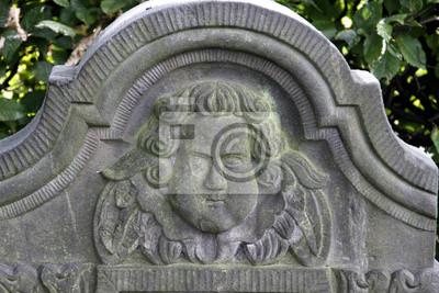 Grabstein Markt Auf Einem Friedhof In Lemgo Fototapete Fototapeten