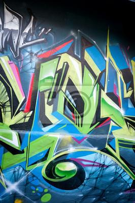 Graffiti coloré