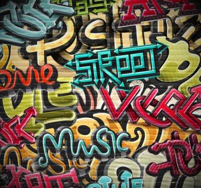 Fototapete Graffiti-Hintergrund