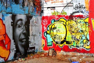 Fototapete Graffiti: Hintergrund