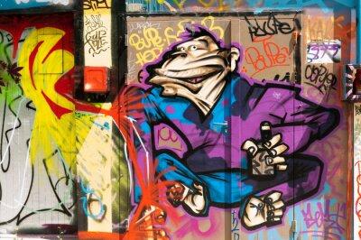 Graffiti person