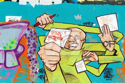 Graffiti person sans déconner