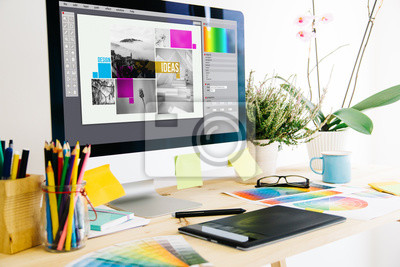 Fototapete Grafikdesign Studio