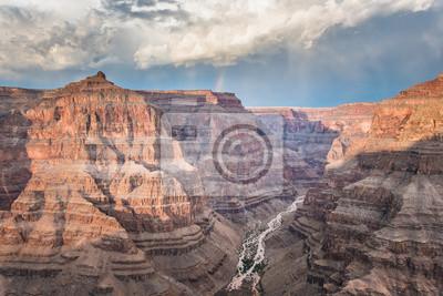 Grand Canyon mit Regenbogen