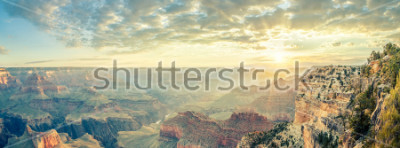 Fototapete Grand Canyon und Sonnenaufgang, USA.