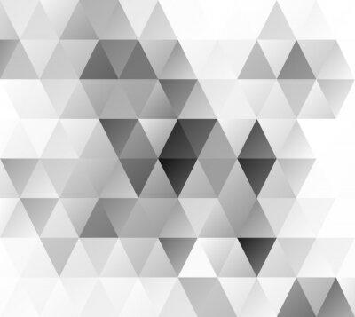 Fototapete Grau Grid Mosaic Hintergrund, kreatives Design Vorlagen