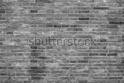 Fototapete Graue Backsteinmauerbeschaffenheit.
