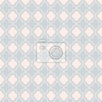 9cc39a92453eac Fototapete Graue Pastell traditionelle geometrische quatrefoil Trellis Muster  Tapete. Vector Textil-Teppich oder Teppich