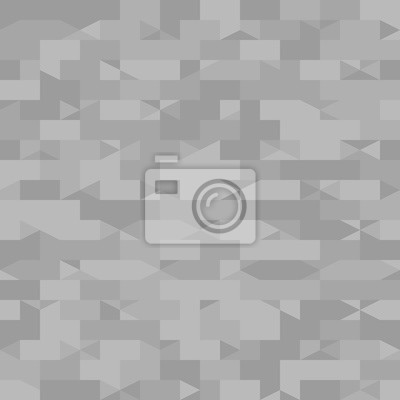 6e8e2c3be53308 Fototapete Graues Muster mit rechten Dreiecken und Rechtecken. Nahtlose  Vektor Hintergrund
