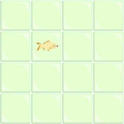 Green Ceramic Tile Seamless Background