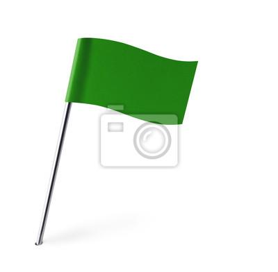 Green Wave Flagge