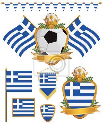 Griechenland-Flaggen