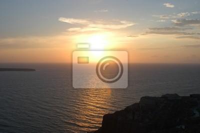 griechisch Sonnenuntergang
