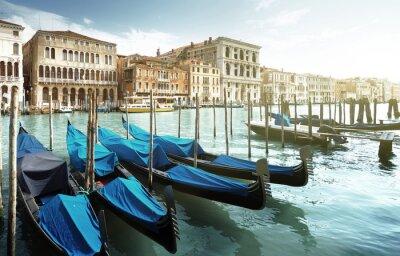 Fototapete Großartiger Kanal, Venedig, Italien