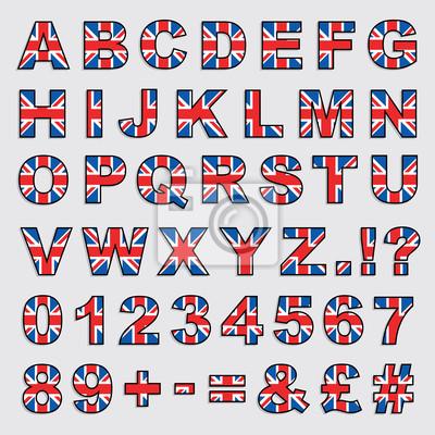 Großbritannien Alphabet