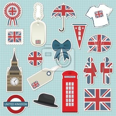 Großbritannien Aufkleber