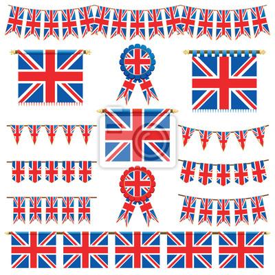 Großbritannien Banner und Ammer