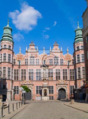 Fototapete große Waffenkammer Gdansk, Polen