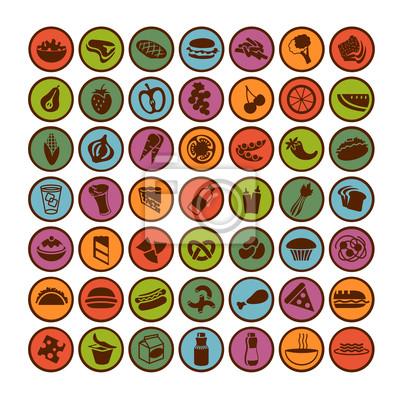 großen Satz von Food Icons 2