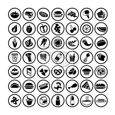 großen Satz von Food Icons 3