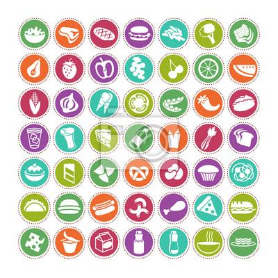 großen Satz von Food Icons 4