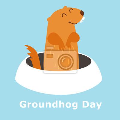 Groundhog-Tag.