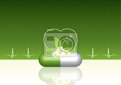 Grün medizinische Hintergrund