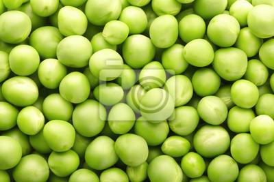 Grüne Erbsen Hintergrund