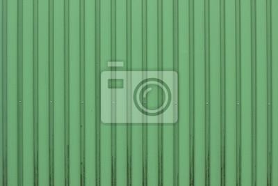 Grüne Kunststoff / Metall-Blatt Textur