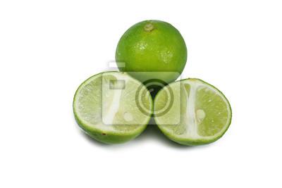 grüne Zitrone