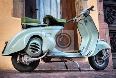 Betere Grüner vintage oldtimer motorroller - roller 60er jahre - grüner ZD-78