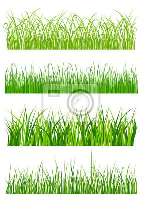 Grünes Gras Elemente und Muster