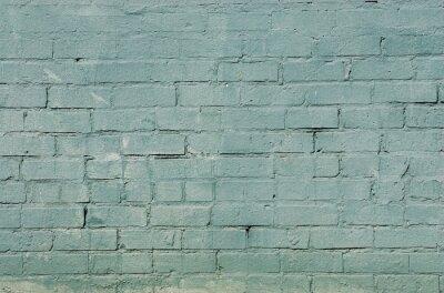 Fototapete Grunge Mauer Hintergrund mit blauer Farbe