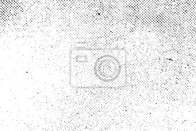 Fototapete Grunge reale organische vintage Vektor Halbton-Tintendruck Hintergrund