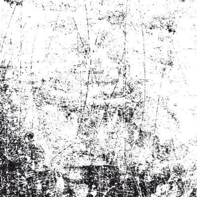 Fototapete Grunge schwarzen und weißen Textur, Vektor