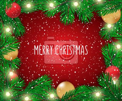 Frohe Weihnachten Guten Rutsch Ins Neue Jahr.Fototapete Guten Rutsch Ins Neue Jahr 2018 Und Frohe Weihnachten Abstrakter