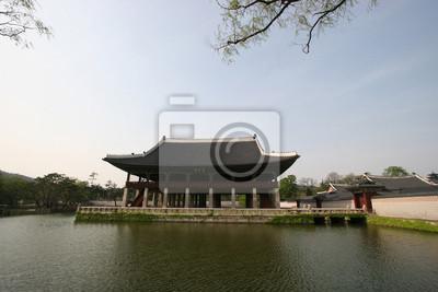 Gyeonghoeru Pavilion in Gyeongbokgung, Südkorea