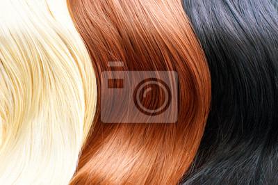 Haarfarben palette braun blond