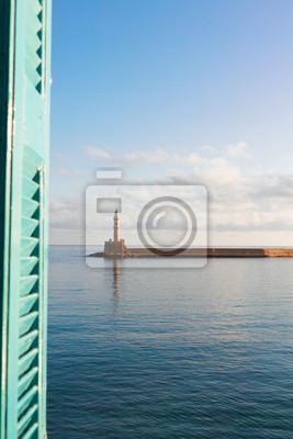 Fototapete Hafen von Chania, Kreta, Griechenland