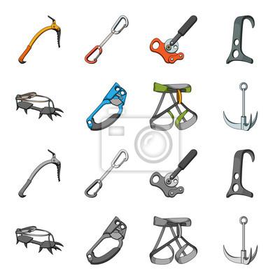 Haken Bergsteigergurt Versicherung Und Andere Ausrustung