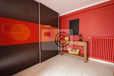 Hall dentrée intérieur maison fototapete • fototapeten Garderobe ...