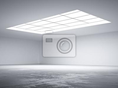 Fototapete dachfenster  Halle mit oberlicht fototapete • fototapeten akzentuieren ...