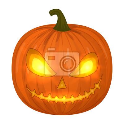 Halloween Kurbis Illustration Fototapete Fototapeten Scarey