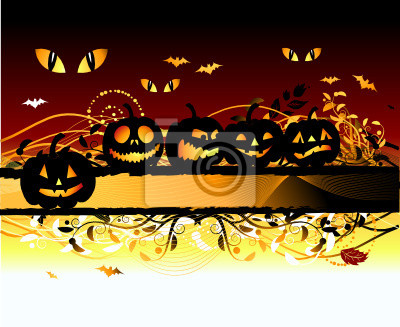 Halloween-Nacht-Hintergrund