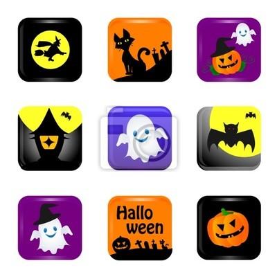 Fototapete Halloween-Symbol