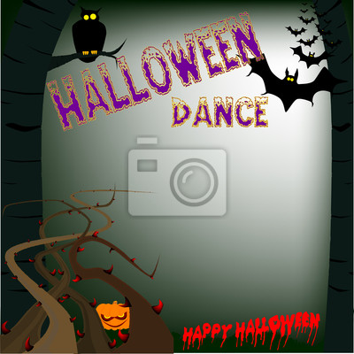 Halloween-Tanz Poster