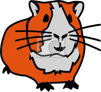 hamster cartoon fototapete fototapeten hamster piktogramm