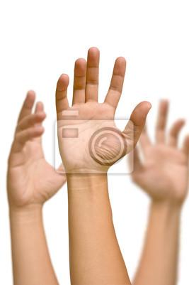 Fototapete Hand